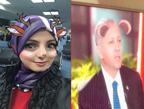 صور شقية لمستشارة أردوغان
