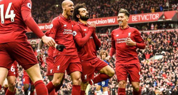 ليفربول يزاحم على صدارة الدوري الإنجليزي