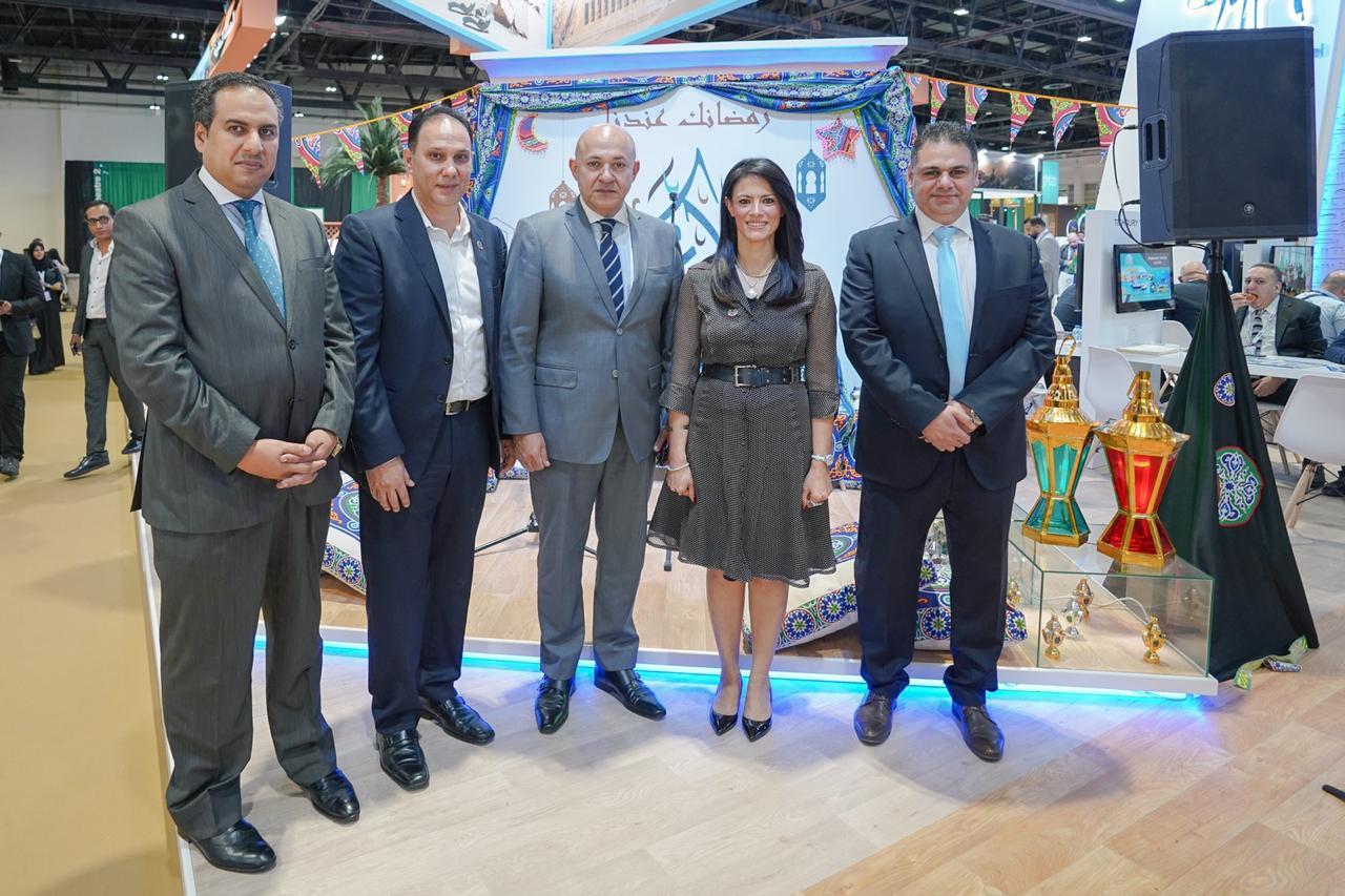 مصر تستغل جناحها بملتقى سوق السفر العربي