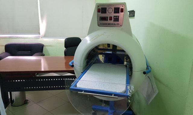 الجهاز الذي احتراق فيه الطفل الرضيع