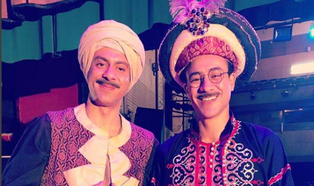 أحمد داود ومحمد فراج