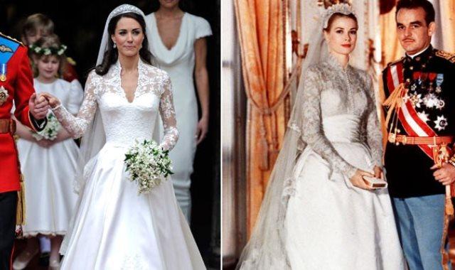 efeb8a44835de صور.. قبل ميجان ماركل.. أجمل فساتين الزفاف الملكية