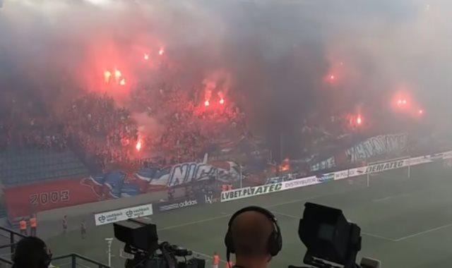 حريق الملعب