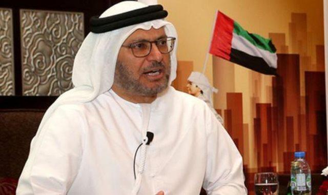 وزير الدولة الإماراتى للشؤون الخارجية أنور قرقاش