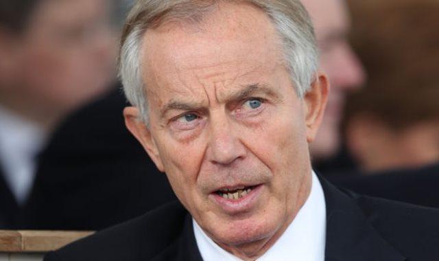 توني بلير- رئيس الوزراء البريطانى الأسبق