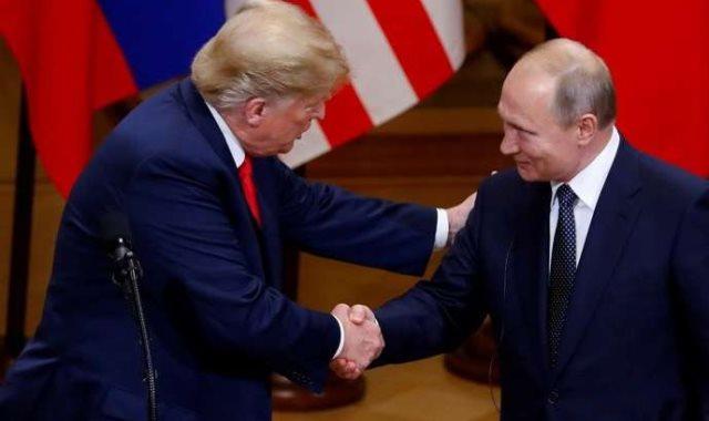 الرئيس الأمريكي ونظيره الروسى