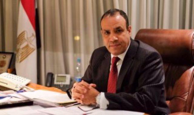 بدر عبد العاطى سفير مصر فى ألمانيا
