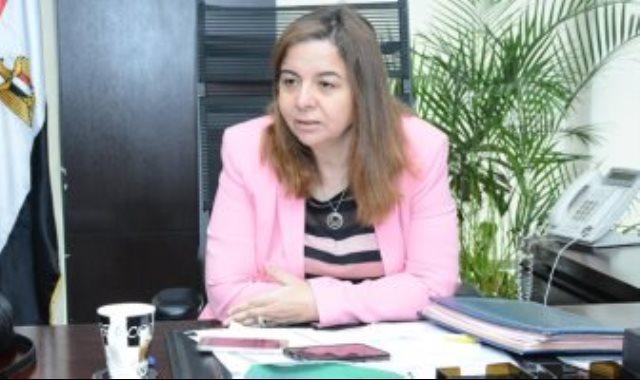 مى عبد الحميد الرئيس التنفيذى لصندوق الإسكان الاجتماعى