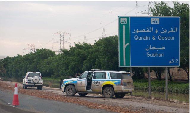 الكويت تسحب المياه من الشوارع