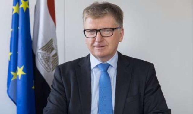 إيفان سوركوش سفير الاتحاد الأوروبى بالقاهرة