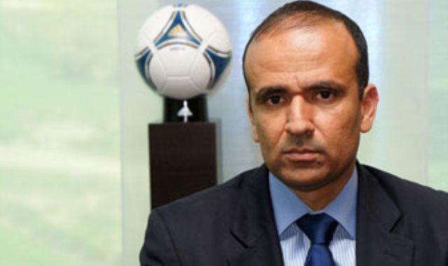وديع الجرئ رئيس الاتحاد التونسى لكرة القدم