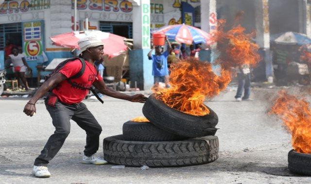 أعمال عنف في هاييتي - أرشيفية