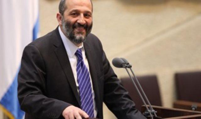 وزير الداخلية الإسرائيلى اريه أدرعى