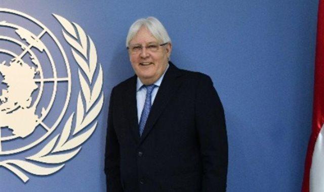 المبعوث الأممى إلى اليمن مارتن جريفيث