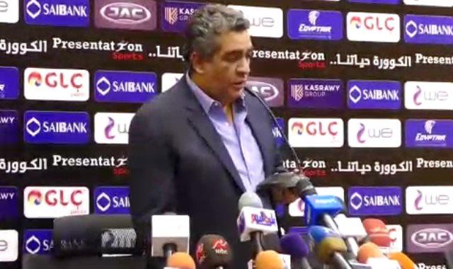 أحمد مجاهد عضو مجلس إدارة اتحاد الكرة