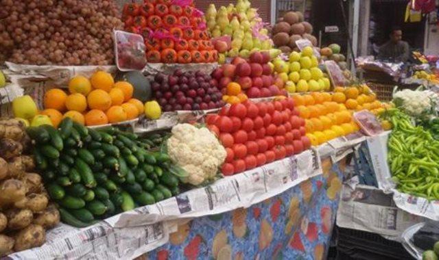 أسعار الفاكهة بسوق العبور