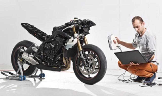 دراجة كهربائية مصنوعة بطابعة ثلاثية الأبعاد