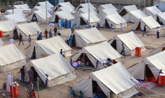 مخيمات النازحين بالعراق