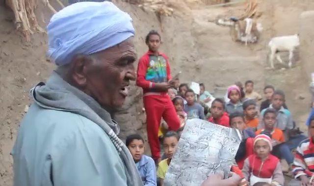 محفظ قرآن يشكر أهالي الأقصر بعد تبرعهم لـ50 طفل يتيم