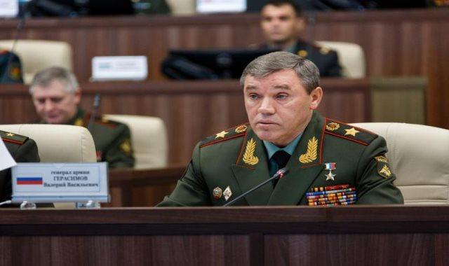 رئيس هيئة الأركان العامة الروسية الجنرال فاليري غيراسموف
