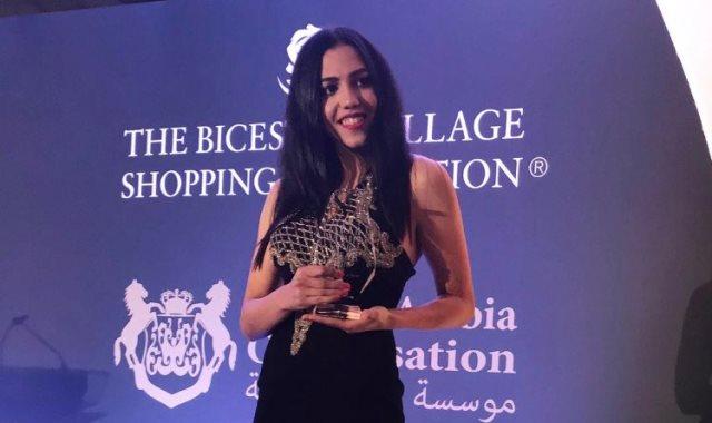 المصرية سارة عصام لاعب المنتخب الوطنى لكرة القدم