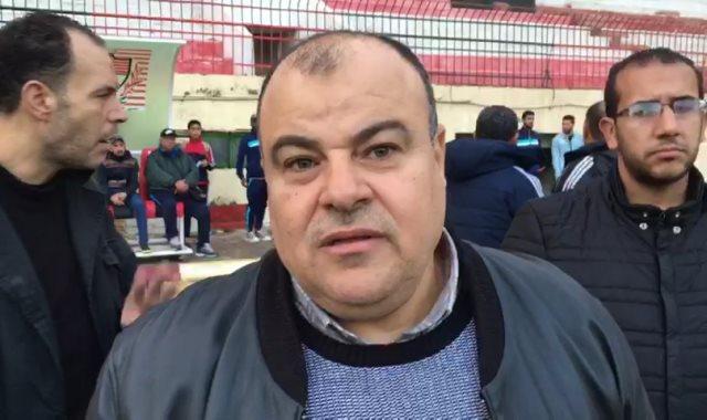حاتم المير رئيس نادي المنصورة
