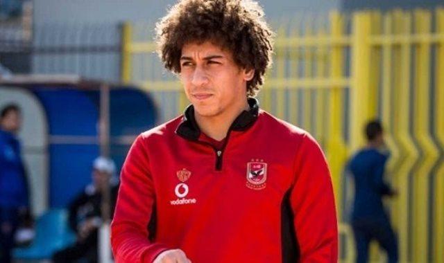 حسين السيد لاعب الأهلى المعار للاتفاق السعودى