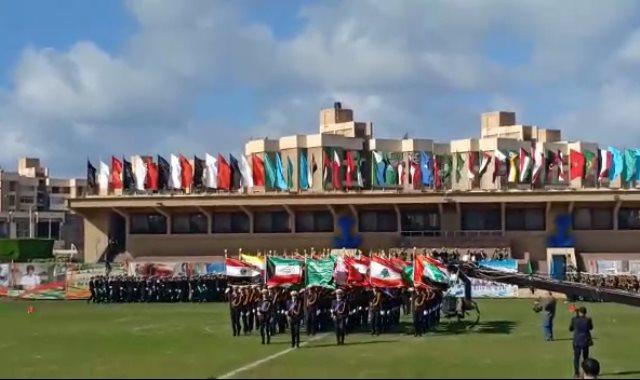 عرض طلاب الأكاديمية العربية بالإسكندرية
