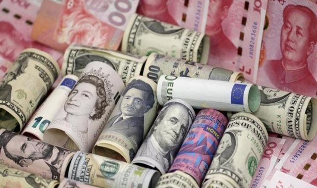 استقرار أسعار العملات الأجنبية اليوم السبت 16-2-2019