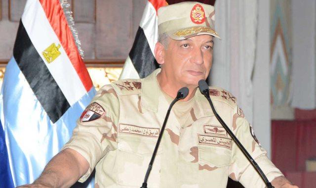 الفريق أول محمد زكى، القائد العام للقوات المسلحة وزير الدفاع