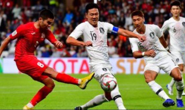 مباراة كوريا الجنوبية وقيرغيزستان