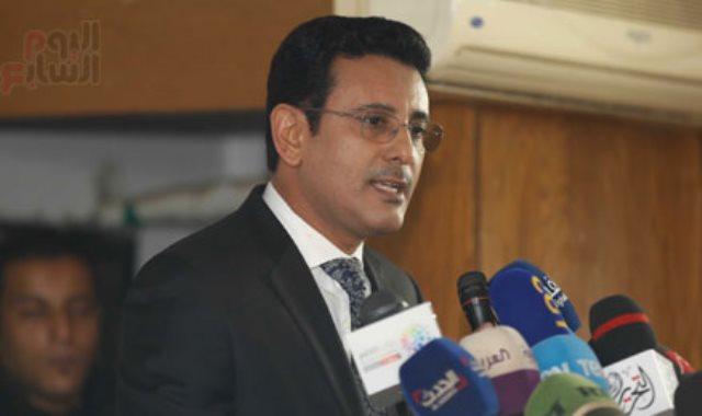 وزير حقوق الإنسان اليمنى الدكتور محمد عسكر
