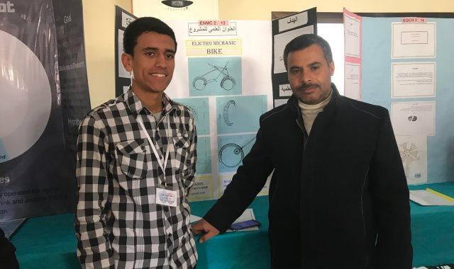 طلاب مبتكرون بشمال سيناء