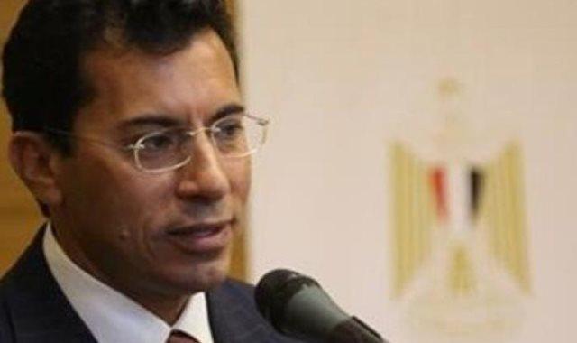 الدكتور أشرف صبحي وزير الشباب الرياضة
