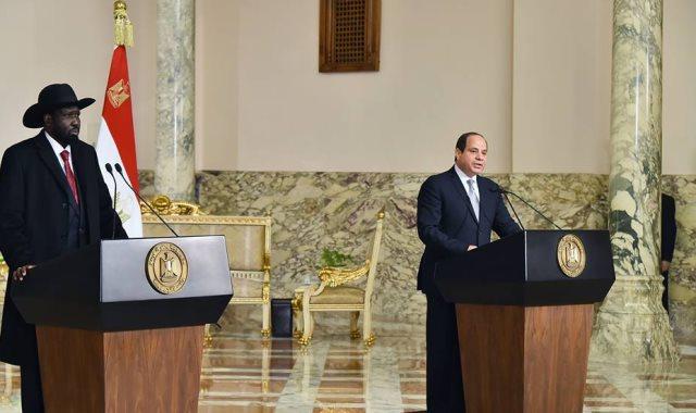 السيسي: مصر ستظل دائما حريصة على دعم أبناء الجنوب (فيديو)