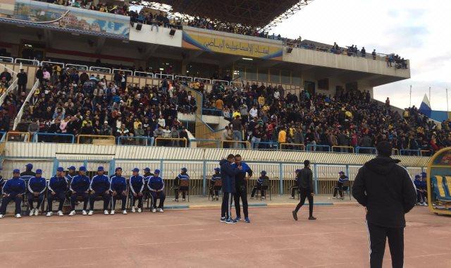 جماهير الدراويش تملئ استاد الإسماعيلية