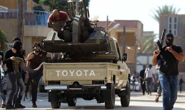مسلحين فى ليبيا