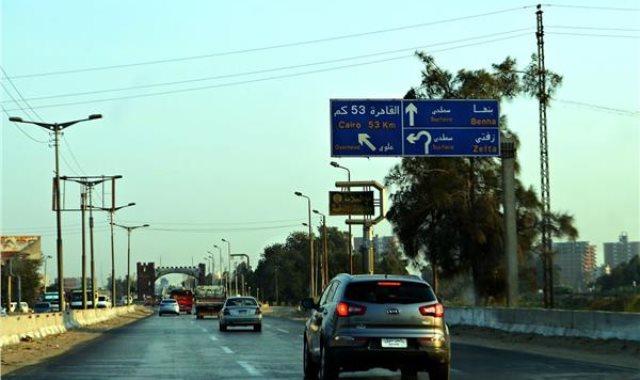 طريق إسكندرية الزراعى - أرشيفية