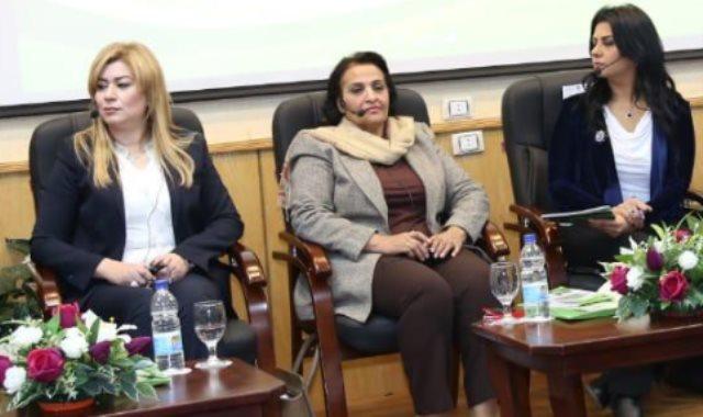 الدكتورة سعاد عبد الرحيم مدير المركز القومى للبحوث الاجتماعية والجنائية