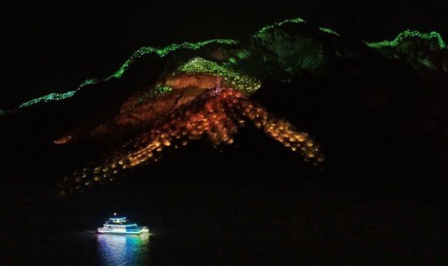 الصوت والضوء فى جبال الصين