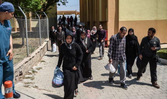 سوريون في هطاي التركية