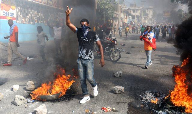 مظاهرات عنيفة فى هايتى بسبب الفساد