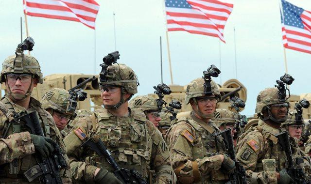 قوات الجيش الأمريكى