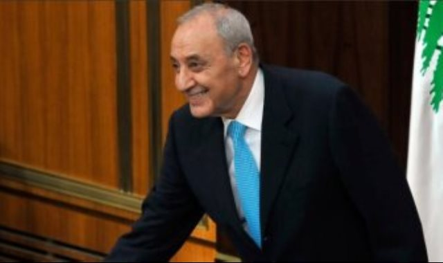 نبيه برى رئيس البرلمان اللبنانى