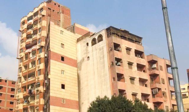 مباني آيلة للسقوط بمصر القديمة