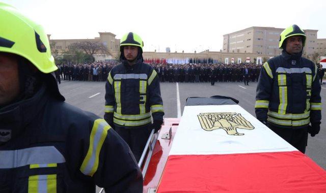 جنازة شهداء الوطن