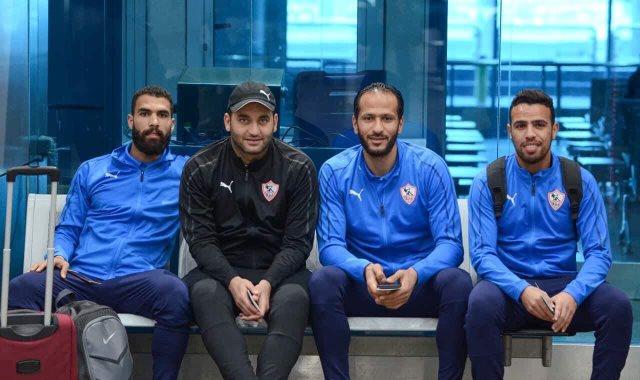 بعثة الزمالك تعود من المغرب بعد التعادل أمام حسنية أغادير