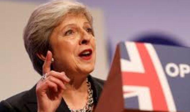 تيريزا ماى رئيسة الوزراء البريطانية