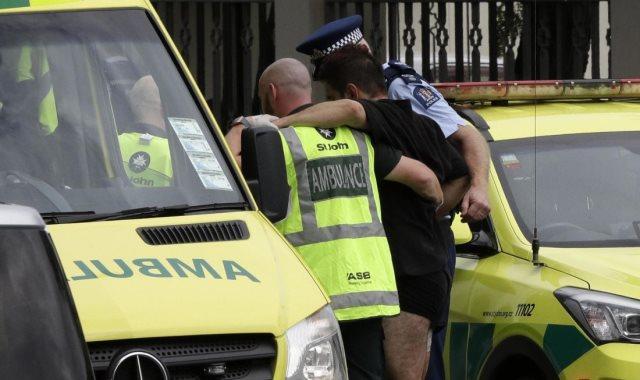 جانب من حادث نيوزيلندا
