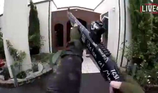 الهجوم على مسجدين بنيوزيلندا
